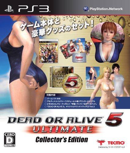 【ゲーム 買取】DEAD OR ALIVE 5 Ultimate コレクターズエディション