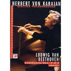 """Karajan : Ludwig Van Beethoven - Symphonies N° 2 & 3 """"Eroica"""" - DVD"""