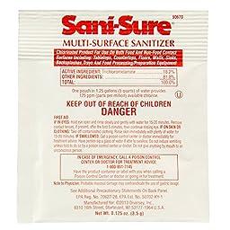 Diversey Sani-Sure Multi-Surface Sanitizer (.125-Ounce, Case of 100)