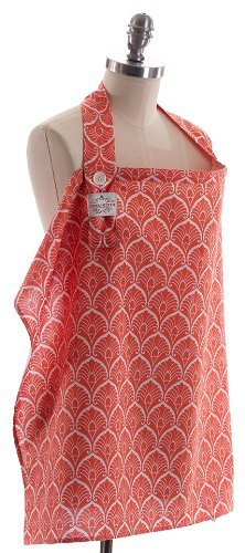 Cover In Style Nursing Cover, Frond Orange Newborn, Kid, Child, Childern, Infant, Baby