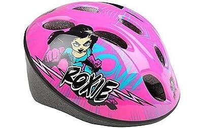 Kids Pink Comic Girl Cycling Bike Helmet 48-52cm by Apollo