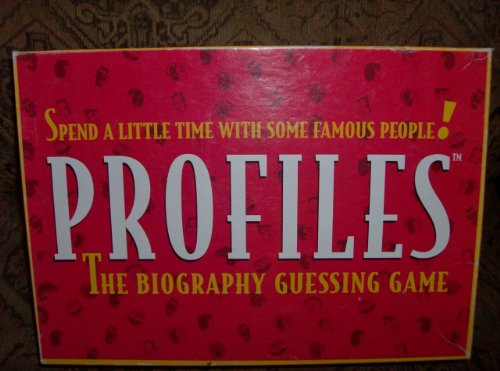 Profiles the Biography Guessing Game By the Big Game Inc. - 1