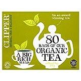 Clipper Organic 80 Tea Bags 250g