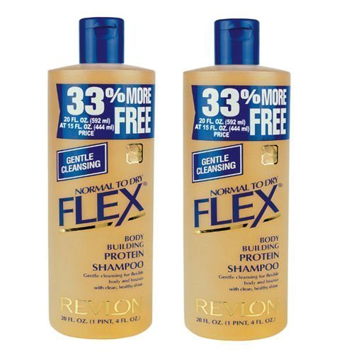 2-x-revlon-flex-body-building-shampoo-normal-to-dry-592ml-expedited-international-delivery-by-usps-f