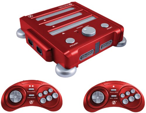 Retron 3 NES/SNES/Genesis Triple System - Vector Red