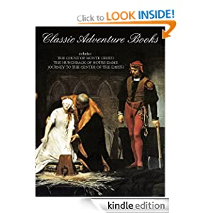 CLASSIC ADVENTURE BOOKS (illustrated)