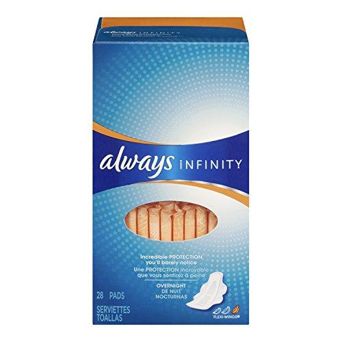 always Infinity whisper 将来感·极护 液体卫生巾 睡夜用300mm 28片*2盒 $10.98+$9.27直邮(需Coupon,约¥130)