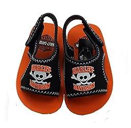 Harley Davidson Toddler Boys Sandal, Shoes, Footwear Size (4 - 5 ) 5.5\