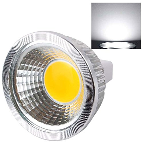 Ultra Bright Mr16 Led Cob Dimmable Spot Down Light Lamp Bulb Pure White 6W F2Home Useful