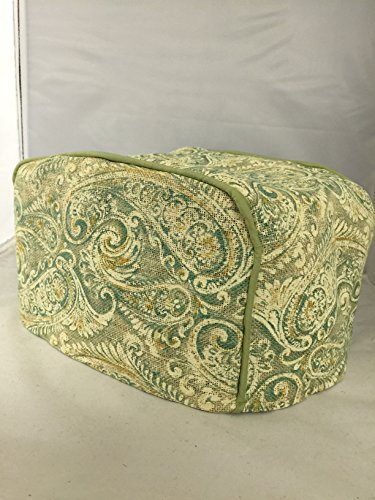 Green Paisley 4 Slice Toaster Cover (4 Slice Green Toaster compare prices)