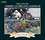 Lang Perfect Timing - Lang 2014 American Dream Wall Calendar, January 2014 - December 2014, 13.375 x 24 Inches (1001706)