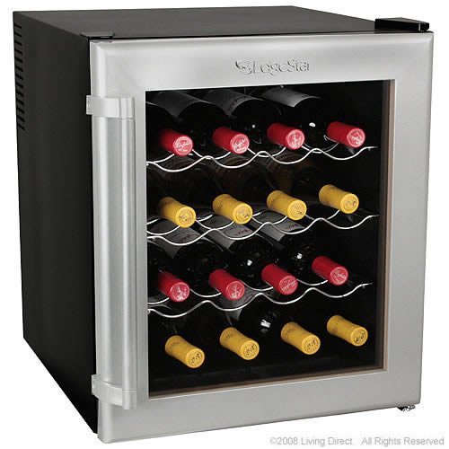 16 Bottle Wine Refrigerator Cellar - EdgeStar