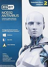 Eset NOD32 Antivirus 4 - Seguridad y antivirus (Caja, 1 Año(s), 28 MB, 44 MB, Intel / AMD, ITA)