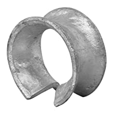 "Campbell 83-G Manila Rope Thimble for 38"" Rope Diameter, Hot Rolled, Mild Steel, Galvanized"