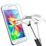 Samsung Galaxy S5 Mini Schutzglas, Bingsale Gehärtetem Glas Schutzfolie Displayschutzfolie Panzerglas für Samsung Galaxy S5 Mini (Samsung Galaxy S5 Mini)