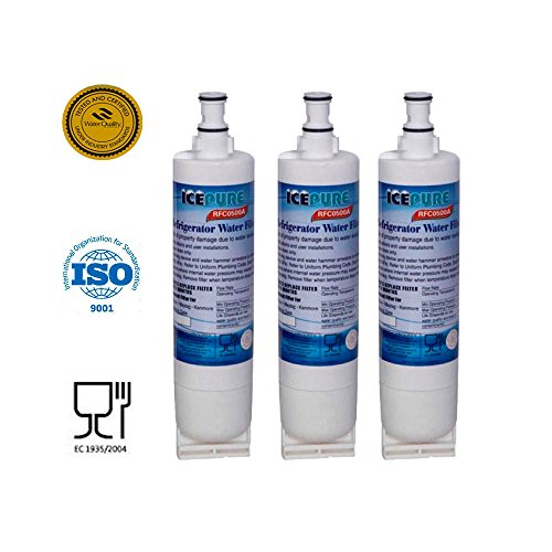 3x Sub For Thermador, Whirlpool Wf-nl300, Wf-l500, Wfnl240, Nlc240v, 4396509 (Nl300 Water Filter compare prices)