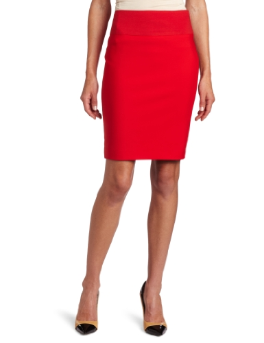 Cluny Women's Pegged Skirt, Red, 10