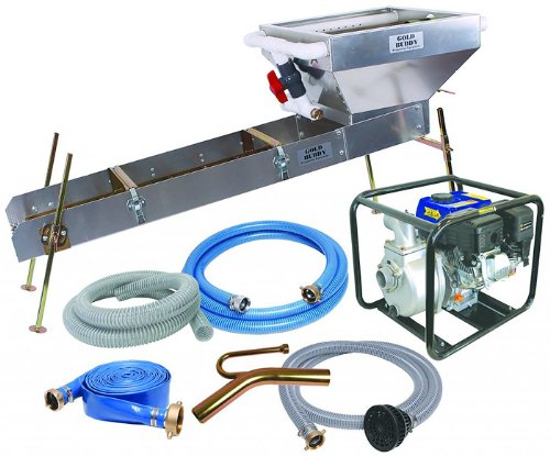 2 inch Suction Dredge / Highbanker Combo with 5 5 HP gas