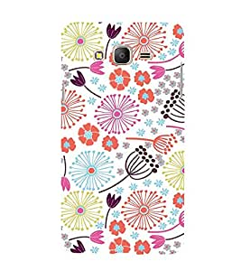Flower Pond Art 3D Hard Polycarbonate Designer Back Case Cover for Samsung Galaxy On7 :: Samsung Galaxy On 7 G600FY