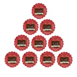 Yankee Candle - 10x Red Apple Wreath Wax Tarts