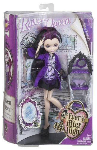 Ever After High Getting Fairest Raven Queen Doll mattel ever after high dvj20 отважные принцессы холли о хэир