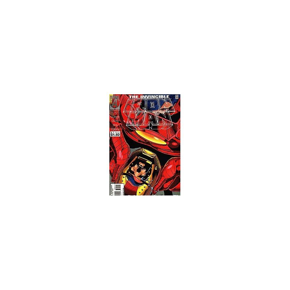 Invincible Iron Man (1968 series) #320 Marvel Books