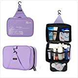 Onor Tech Portable Multi Functional Waterproof Travel Toiletry Wash Cosmetic Bag Makeup Storage Case Hanging Grooming...
