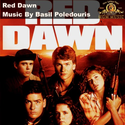 Original album cover of Red Dawn by Basil Poledouris