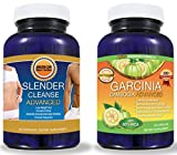 Pure Garcinia Cambogia Extract PLUS Detox Cleanse (BEST SELLERS BUNDLE!) --LOOK AT OUR REVIEWS!!! All Natural Garcinia Cambogia Advanced With The TV Doctors Required 60% HCA Formula Perfectly Matched to THE Premium Slender Cleanse Advanced Colon Cleanse for FAST RESULTS to Help You Lose Weight! - 2 BEST SELLING PRODUCTS FOR THE PRICE OF 1! (DIET KIT) - Get Slim Fast - -A to Z 100% Satisfaction Guarantee! - - Click The ADD TO CART Button to the Right!