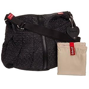 babymel amanda quilted diaper bag black diaper tote bags baby. Black Bedroom Furniture Sets. Home Design Ideas