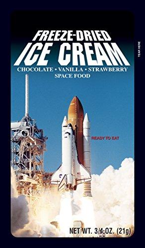 Bulk Freeze-Dried Premium Ice Cream - Box of 100 (Astronaut Ice Cream Bulk compare prices)