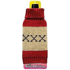 XXX Liquor Beer Bottle Knit Cozy