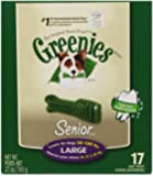 Greenies Senior Tub-Pak Treat for Dogs, 27-Ounce, Large