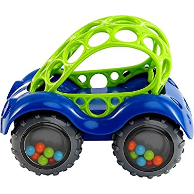 O Ball Rattle and Roll Car by Oball that we recomend personally.
