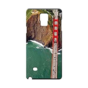 BLUEDIO Designer Printed Back case cover for Samsung Galaxy Note 4 - G7409
