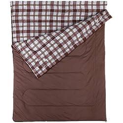 Coleman Hampton - Saco de dormir doble (220 x 150 cm)