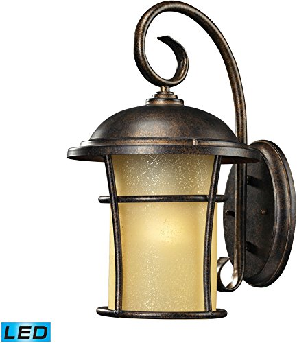 "Bolla Vista Outdoor Wall Sconce 15"" H X 8"" W/Led Bulb"