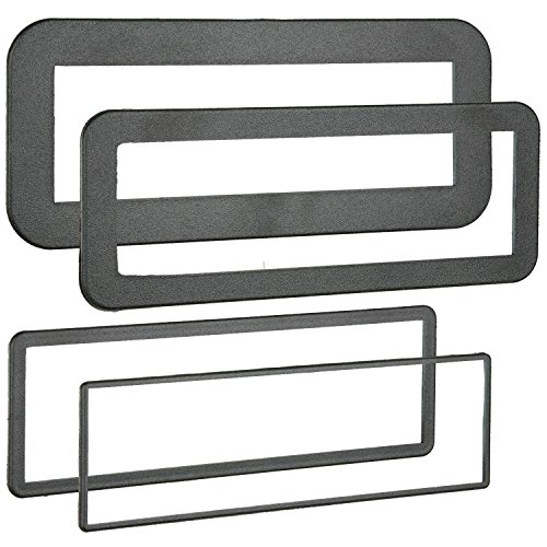 Metra 89-30-0900 Din Trim Rings, 4 Pack