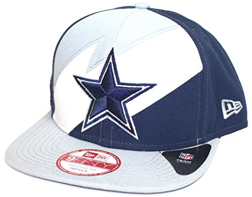 NFL Officially Licensed Dallas Cowboys lightning Snap Back Flat Bill Baseball Hat Cap Lid