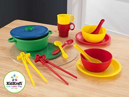 Kidkraft asian cuisine cookware set home garden kitchen for Art and cuisine cookware