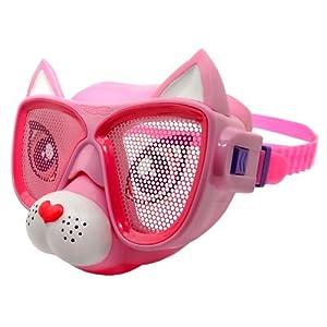 Buy Raskullz Girl's Cutie Cat Swim Mask, Pink by Raskullz