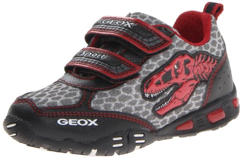 Geox JR Light Eclipse Dinosaur Sneaker (Toddler/Little Kid/Big Kid)