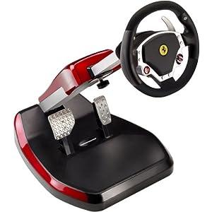 Scuderia Edition Ferrari Wireless GT 430 Cockpit Set for PS3 and PC