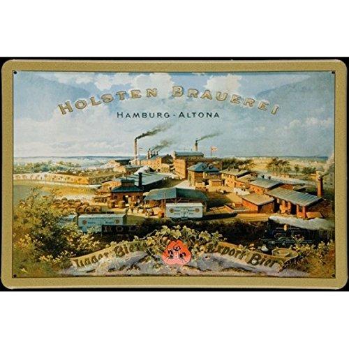 holsten-de-brasserie-batiments-affiche-sur-tole-en-fer-blanc-30-x-20-cm
