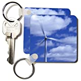 Renewable Energy of Wind Power Generator-CO07 JME0000 - John and Lisa Merrill - Set Of 6 Key Chains