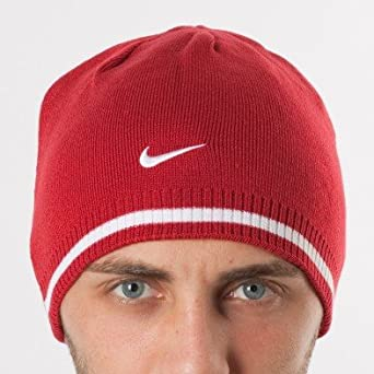 Nike Cat Id Reversible Beanie 321681,648 Homme Bonnet Rouge