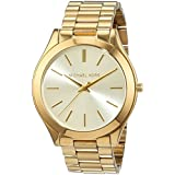 Michael Kors Women's Runway Gold-Tone Watch MK3179