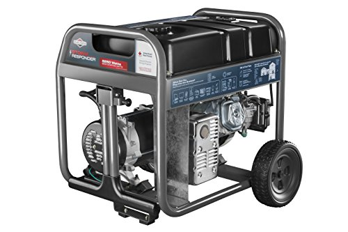 Briggs & Stratton 30592 6250-watt Storm Responder Generator with Digital Stat Station, Grey