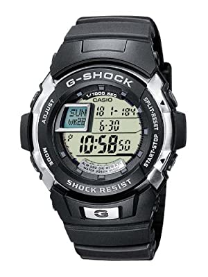 Casio G-7700-1ER Mens G-SHOCK Resin Digital Watch from G-SHOCK