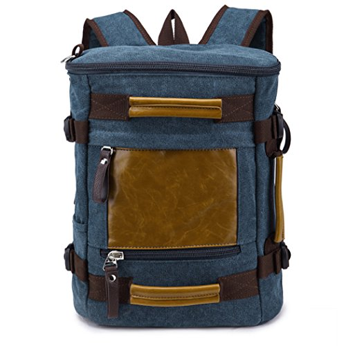 Red Dandelion Cylindrical Canvas Handbag Original Design Uinque Backpack Blue (Coleman Blender compare prices)